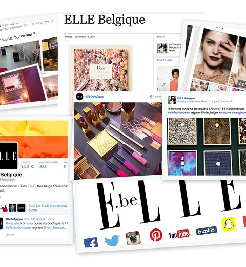 Rejoignez la communauté ELLE Belgique