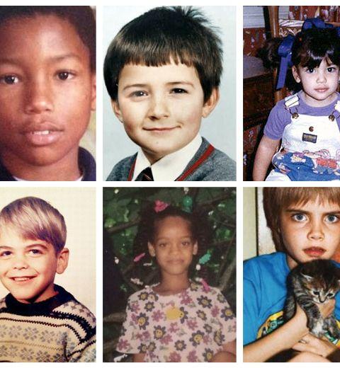 Top 20 des photos de stars quand elles étaient petites
