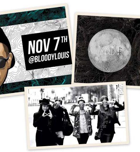 Moonlight présente Oneman au Bloody Louis ce vendredi