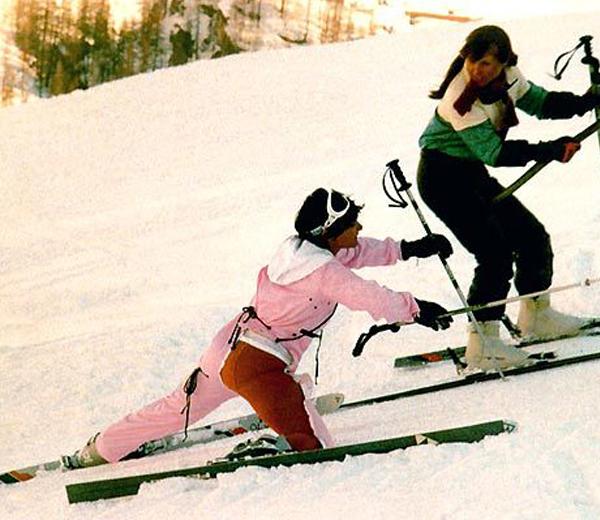 ski étirement