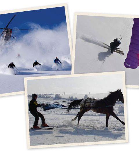 7 sports d'hiver qui changent du ski