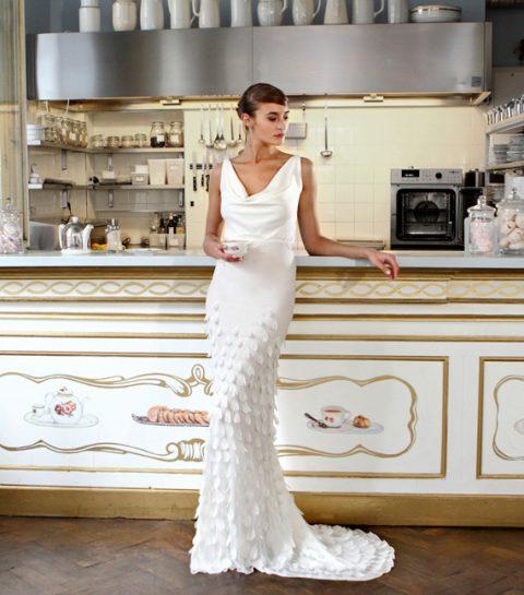 6100fd863c8e4 Valentine Avoh lance sa collection de robes de mariées - ELLE.be