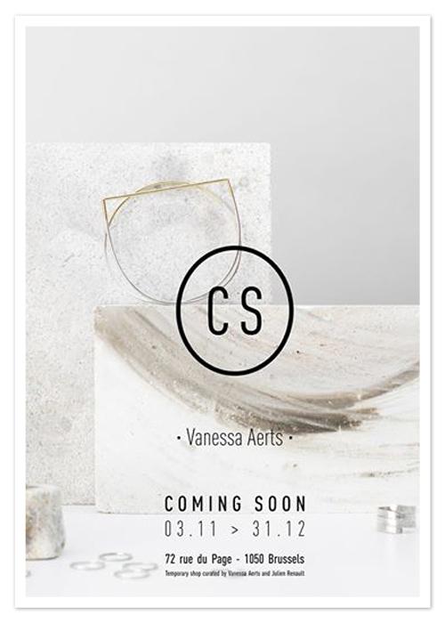 coming soon le nouveau temporary shop de vanessa aerts. Black Bedroom Furniture Sets. Home Design Ideas