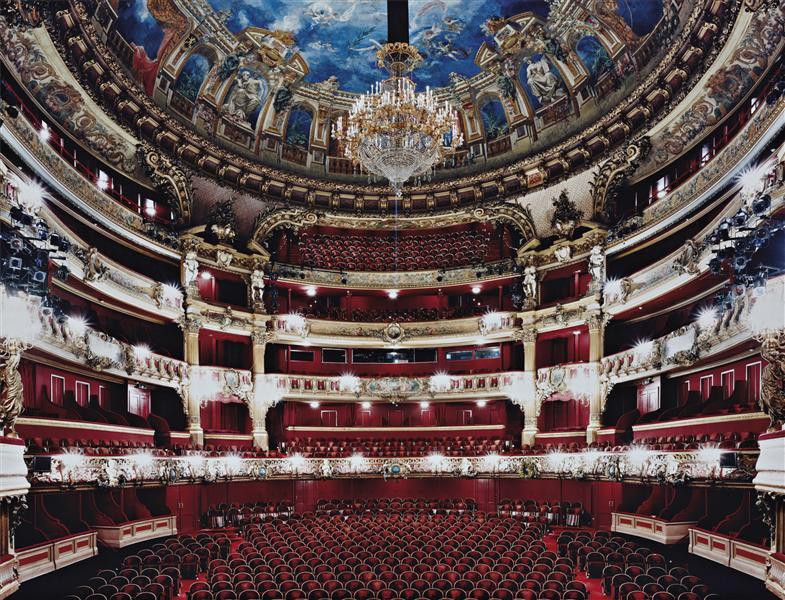 Le Théâtre Royal de la Monnaie à Bruxelles