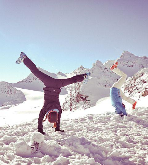 Le Ski look du jour: Peak Performance