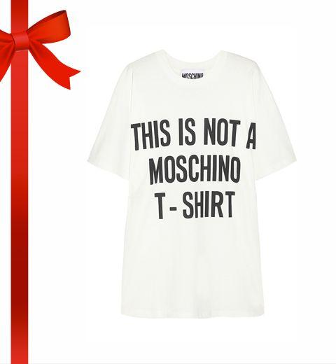Le (non)t-shirt Moschino