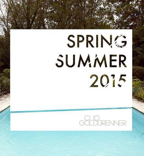 Exclu ELLE.be: Découvrez la collection Eté 2015 de Clio Goldbrenner