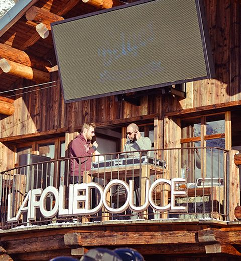 La playlist de la Folie Douce
