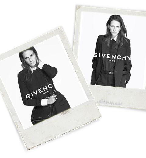 Julia Roberts est le nouveau visage de Givenchy