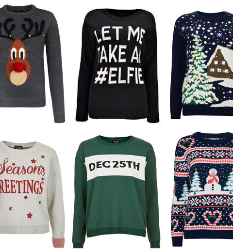 Shopping: 25 pulls de Noël déments