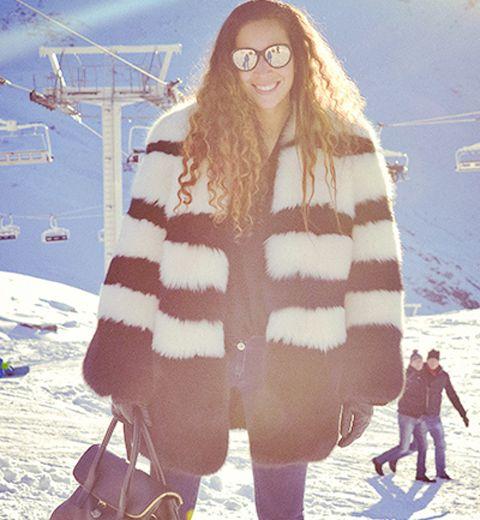 Le ski look du jour: heu… c'est par où Chanel ?
