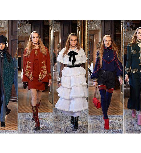 Le défilé Métiers d'Art de Chanel