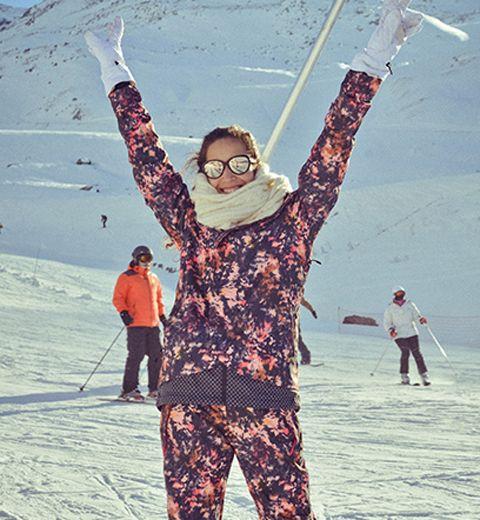 Le ski look du jour: on y croit