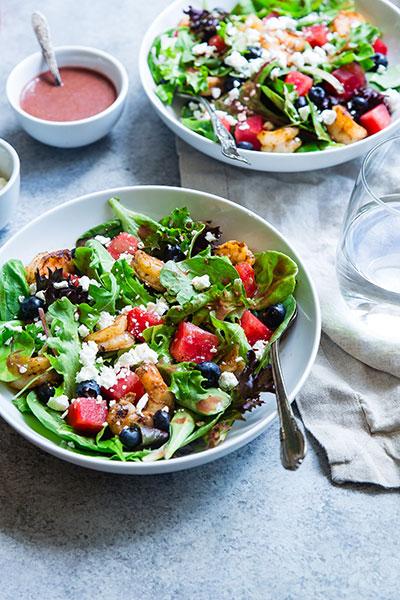 salade pour manger sainement en blocus