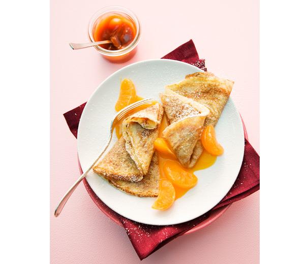 Crepes-mandarines