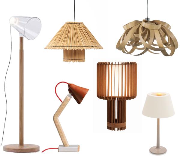 Lampes-en-bois