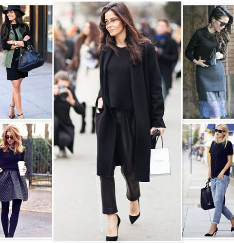 Comment porter le total look noir ?