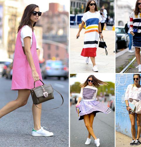 Streetstyle: 40 façons de porter des baksets en été