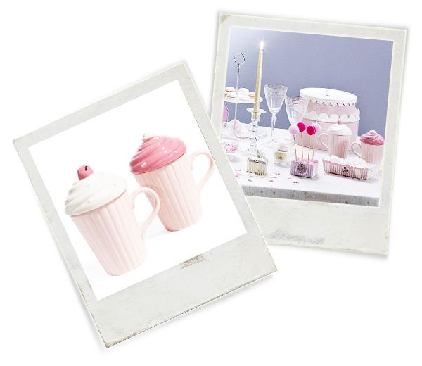 Mug Chapeau Creamy 35,94 € pour 6 soit 5,99 € l'unité [Maison du monde]