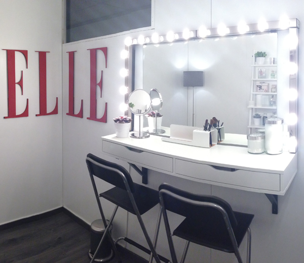 le inaugure la elle beauty room. Black Bedroom Furniture Sets. Home Design Ideas