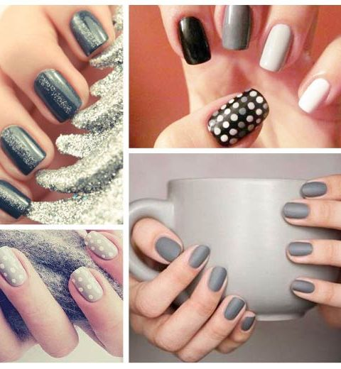 Nails Art: Comment porter 50 nuances de gris?