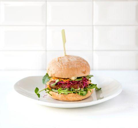 Le burger aux falafels : recette
