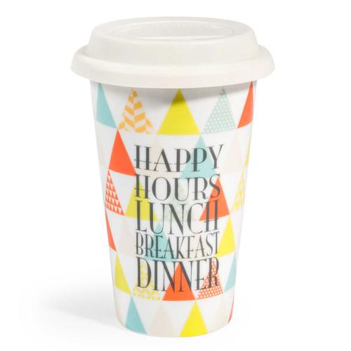 """Mug en porcelaine multicolore """"TO GO MATILDA"""" 8,59 € [Maison du monde]"""