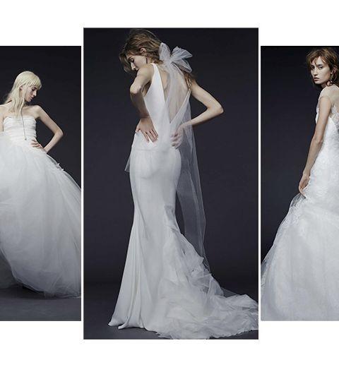Les robes de mariée Vera Wang, version automne