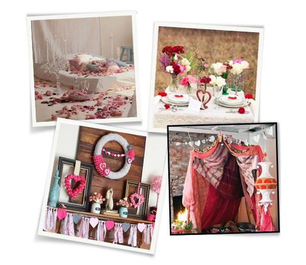 saint valentin 12 id es pour une d co romantique. Black Bedroom Furniture Sets. Home Design Ideas