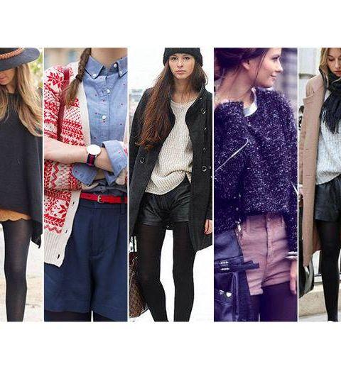 20 façons de porter le short en hiver