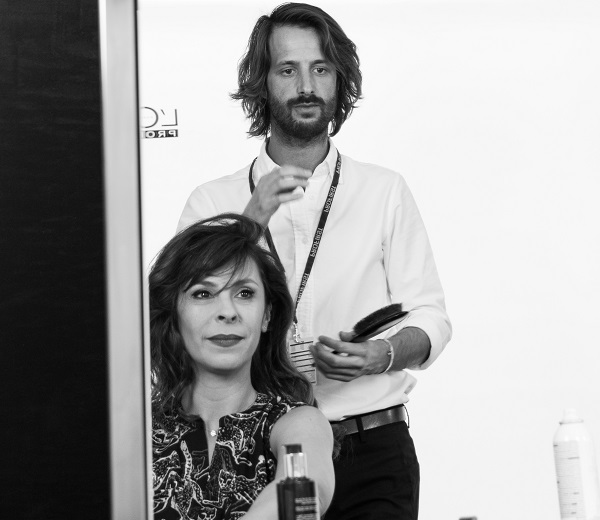 Tania Garbarski et Adrien Coelho Premier Studio pour l'Oréal