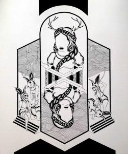 Filleul Galerie_Giuseppina Caci_Miroir (Detail)_€ 6000 - copie