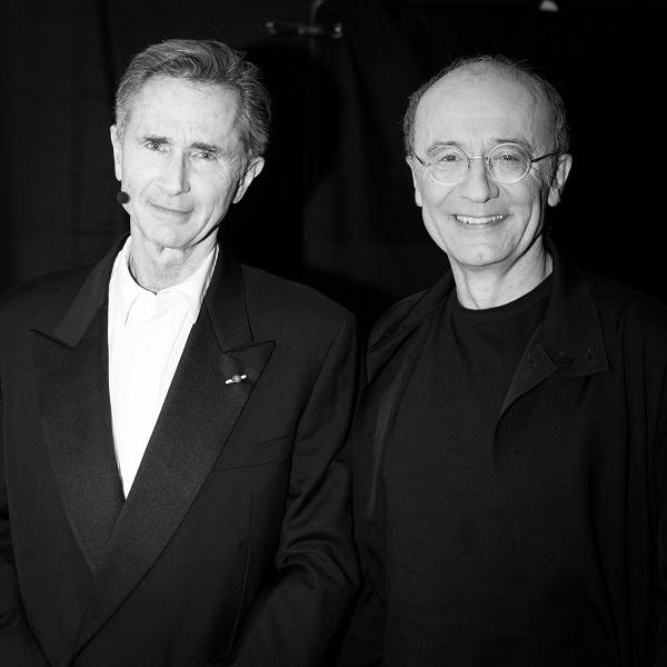 Thierry Lhermitte et Philippe Geluck