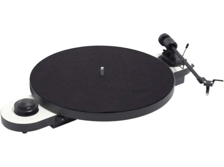 PRO-JECT-Platine-vinyle-manuelle-Elemental-Phono-USB-blanc-(10ELEXWH)