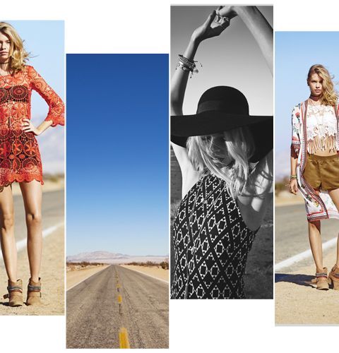La collection H&M loves Coachella