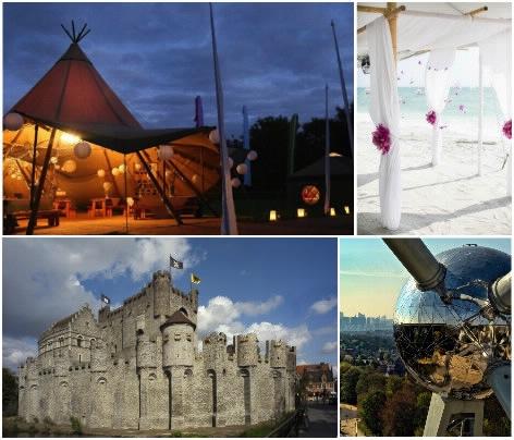 8 lieux de mariage originaux en Belgique