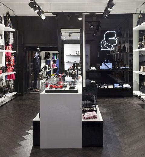 Ouverture d'un concept shop Karl Lagerfeld à Bruxelles