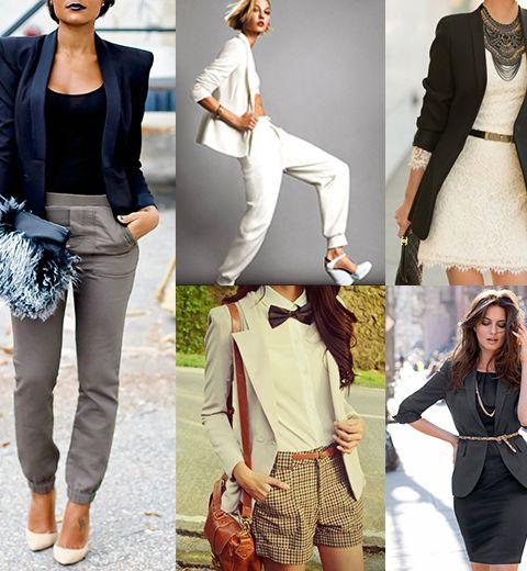 20 façons de porter le blazer