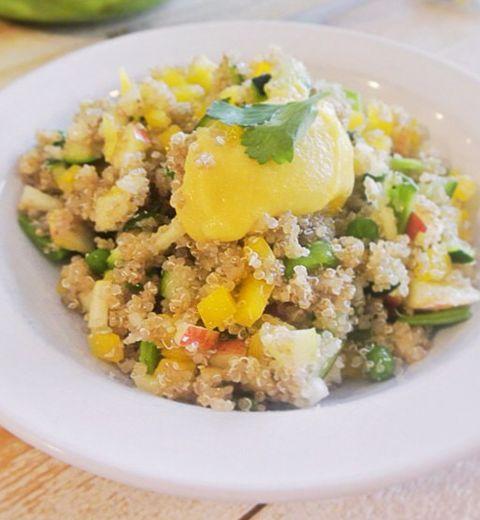 Recette: la salade détox et bio au quinoa