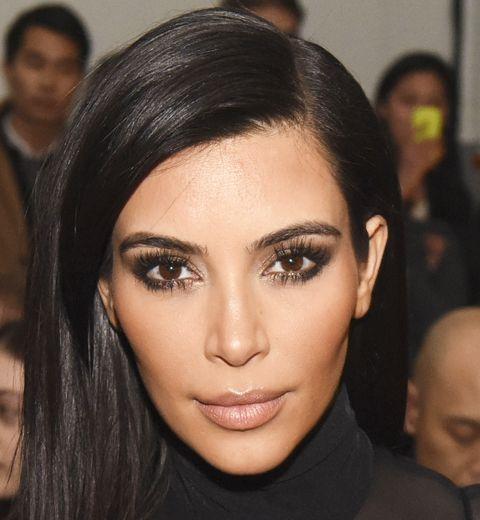 Le contouring: l'astuce make-up de Kim Kardashian