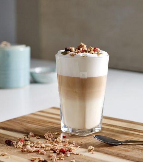 Caffe Latte au Granola