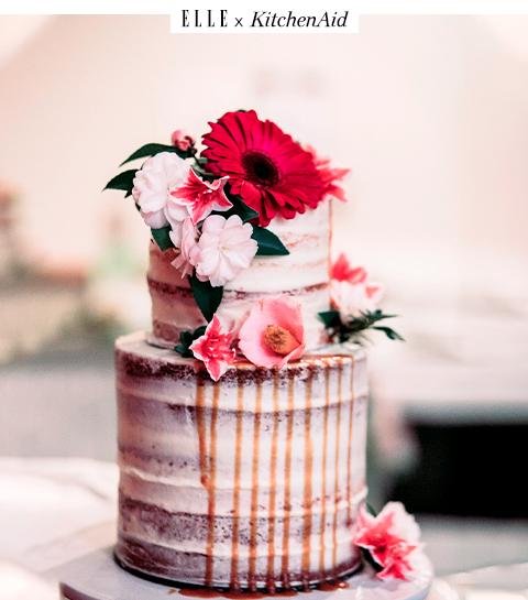 Le gâteau d'anniversaire Reine de coeur
