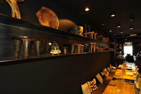 Decoration restaurant africain