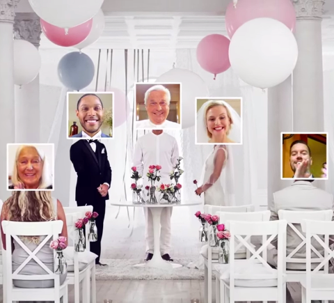 Peut-on se marier en ligne ?