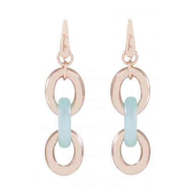 Boucles d'oreilles, Bronzeallure, or 18K,99€