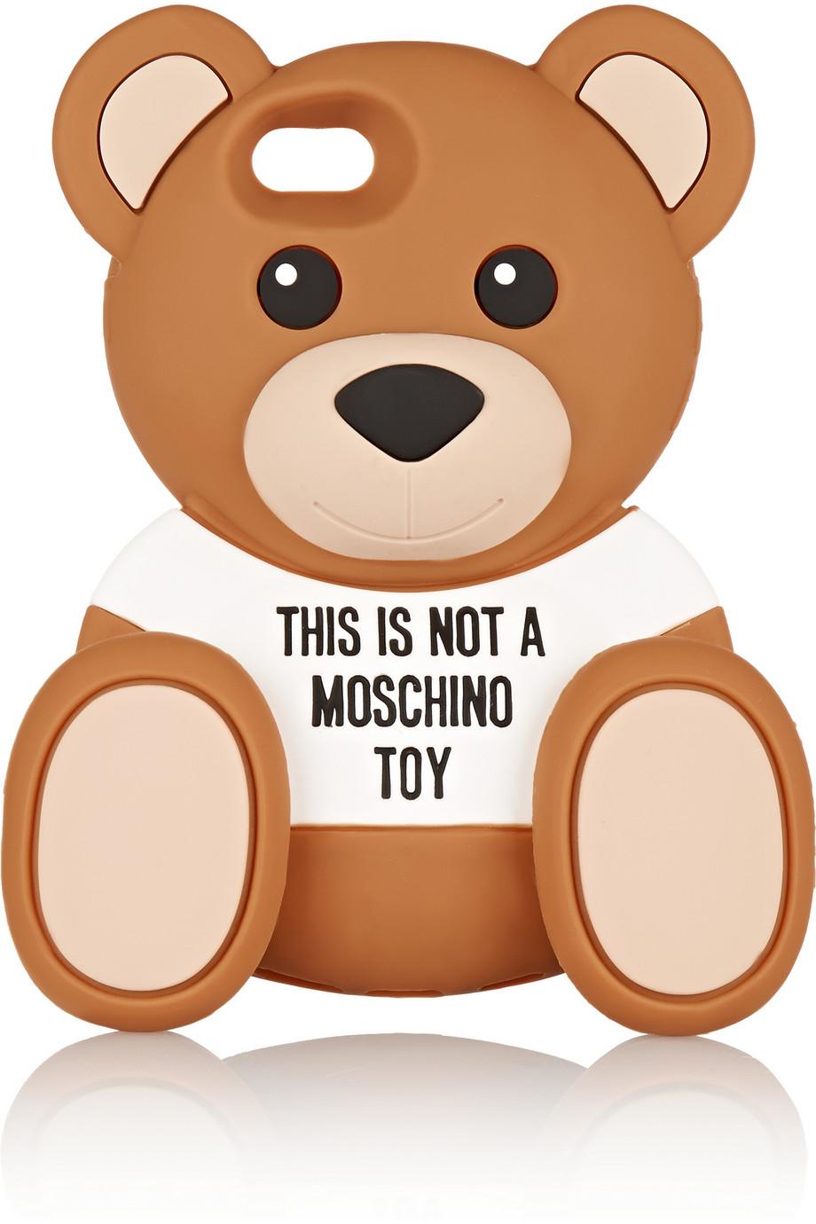 Coque iPhone, Moschino, 50€ sur Netaporter.com
