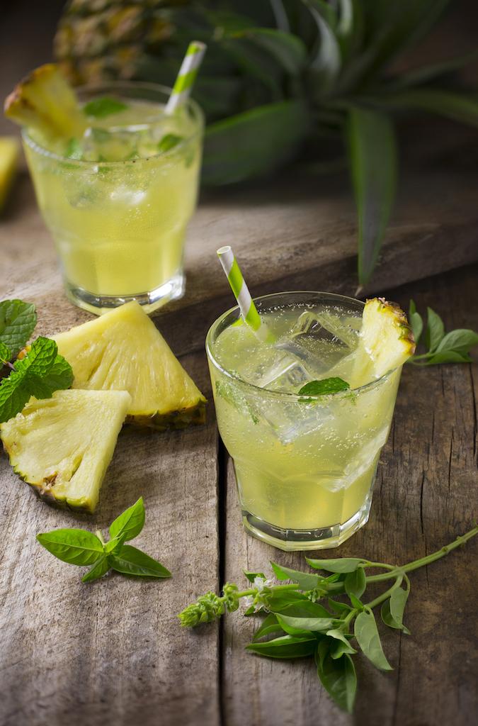 boisson fraîche citron ananas