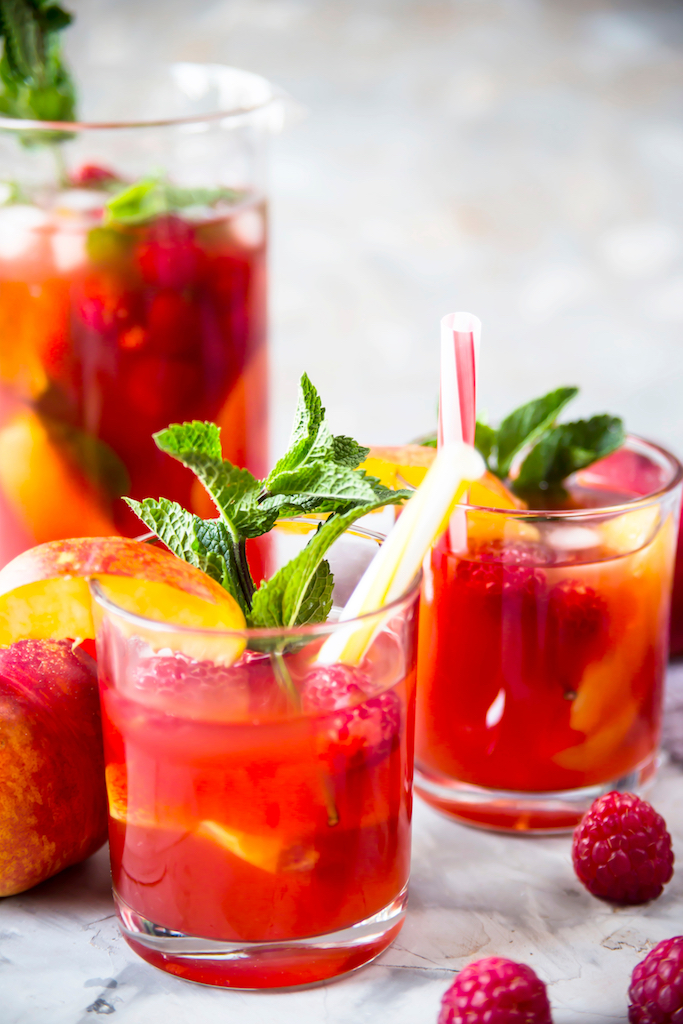 boisson fraîche sangria
