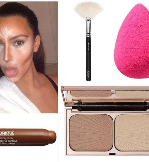 Make-up contouring: notre shopping