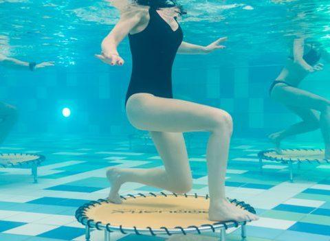 On a testé: l'Aqua JUMP à l'Aspria